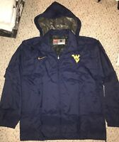 NEW Nike West Virginia Mountaineers Mens Hooded Full Zip Jacket *S*