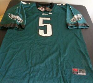 DONOVAN MCNABB Philadelphia EAGLES Football NIKE Vintage XL Replica Jersey NEW