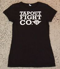 TAPOUT Fight Co Ladies T-shirt, Black, Size M, Pre-loved