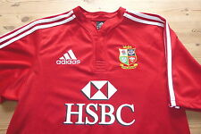 BRITISH LIONS adidas SOUTH AFRICA 2009 RUGBY UNION JERSEY SHIRT SMALL