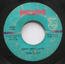 Hear! Northern Soul 45 Paul Kelly - Sweet Sweet Lovin' / Cryin' For My Baby On P