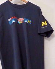 """WINNER'S CIRCLE JEFF GORDON 24 TEE LARGE NAVY T-SHIRT COTTON MOTORSPORTS 24""""PIT"""