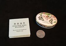 Halcyon Days English Enamels The Best Is Yet To Come Oval Trinket Box