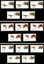 2015 Portugal ATM Af#69 5x3 MNH values. Dinosaurs.