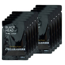 10Pcs Blackhead Ance Remover Face Pore Mask Purifying Peel Off Facial Cleaner