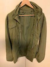Vtg 60s  Vietnam US Army M-65 Field Jacket Military Coat Regular  small