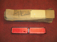 1972 1973 Lincoln Mark IV Right Rear Taillight Lens Part Number D2LY-13450-A