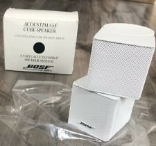 Bose Jewel BRAND NEW IN BOX Double Cube Premium Speaker in White