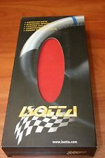 Couvre Volant Cuir ROUGE & NOIR pour SEAT AROSA IBIZA 96> 99 .ISOTTA Made Italy