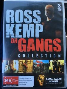 Ross Kemp On Gangs Collection DVD, Series/ Season 1-3 1 2 3, Rare All Region