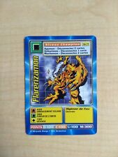 Flarerizamon MP-74 Rare French Digimon Card From Mega Pack