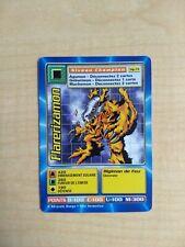 Flarerizamon MP-74 Rare French Digimon Card From Mega Pack
