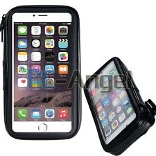Waterproof Motorcycle Bike Bicycle Handlebar Mount Holder Case For Cell Phone
