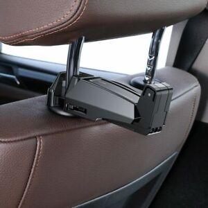 """Foldable Adjustable Clip Car Backseat Bag Hook Headrest Holder 4-6.5"""""""