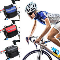 Bicycle Waterproof Storage Saddle Bag Bike Seat Cycling Rear Pouch Outdoor Q6H0