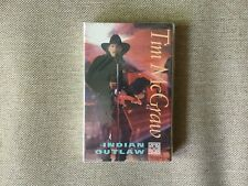 "Tim McGraw ""Indian Outlaw"" (1994) Rare Cassette Single - Still Sealed"