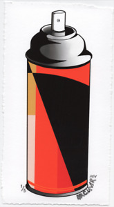 MR CLEVER ART CONTEMPORARY SPRAY CAN Color Abstract Op Street Art Deco Graffiti