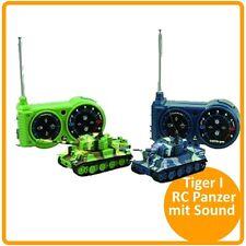 """RC Panzer """"Tiger I"""" Mini M 1:72 mit Schußsimulation mit Sound und Licht #23016"""