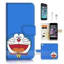 ( For iPhone 7 ) Wallet Case Cover P3530 Cartoon Cat