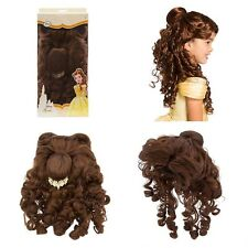 Disney Store Belle Costume Wig for Kids Beauty and the Beast NIB