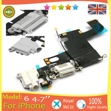"""for iPhone 6 6g 4.7"""" Charging Dock Port Flex Cable Ribbon Headphone Audio White"""