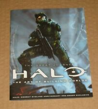 The Great Journey Halo The Art of Building Worlds Promo Pre Order Bonus Book A5
