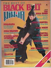 THE BEST OF BLACK BELT NINJA MAGAZINE- # 2-1985-VINTAGE BLACK BELT MAGAZINE