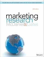 Marketing Research by Roger Gates and Carl, Jr. McDaniel (2014, Paperback)