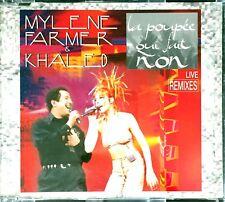 CD MAXI MYLENE FARMER LA POUPEE QUI FAIT NON LIVE REMIXES RARE COMME NEUF 1997