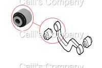 1K0505323H For Audi VW Skoda Arm Inner Bushing - Rear Upper Track Control Arm