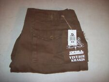 Drill Men's Vintage Khaki Pants Size 34 x 32 PLZ SEE Measurements NEW W/ TAGS