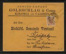 Austria   nice  cover  1894                 KL0924