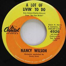 Soul 45 Nancy Wilson - A Lot Of Livin' To Do / You Can Have Him On Capitol Recor