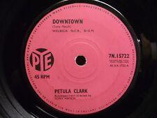 """Petula Clark - Downtown 7"""" - Plays EX!"""