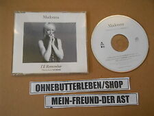 CD Pop Madonna - I'll Remember (4 Song) WEA SIRE GERMANY