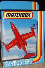 MATCHBOX RARE SKYBUSTERS - SB-1 LEAR JET - DATAPOST - MINT & BOXED - BARGAIN!