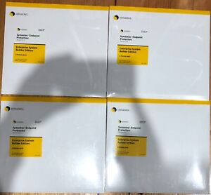 4x sealed Symantec Endpoint Protection 11.0