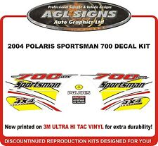 2004 POLARIS  Sportsman 700 twin 4X4 Decal kit  atv YELLOW  reproductions