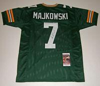 PACKERS Don Majkowski signed green jersey w/ #7 JSA COA AUTO Autographed