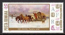 Romania - 1970 Stamp Day / Coach - Mi. 2894 MNH