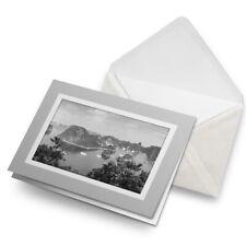 Greetings Card (Grey) BW - Ha Long Bay Island Vietnam Asia  #37561