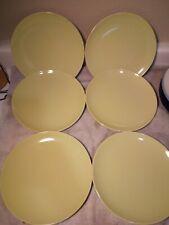(6)  IKEA SALAD PLATES--LIGHT GREEN --120 11--SWEDEN----FREE SHIP-VGC