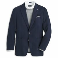 NWT PETER MILLAR  SANTORINI SOFT JACKET BLAZER COAT Starlight Blue Size 42R $798
