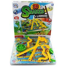 SCALE E SERPENTI gioco da tavolo 3D Tradizionale Famiglia Giocattolo Bambini Regalo Festa Grafix