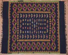 Greece Epirus Metsovo BeautΙFul Used Old Handwoven Wool Kilim Rug 192x154 cm