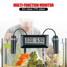 EC Conductivity Monitor Digital PH Meter Aquarium Water Quality Monitor Tester