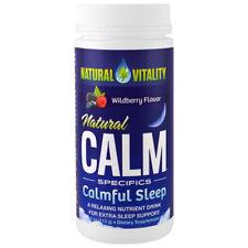 NATURAL VITALITY - Natural Calm Specifics Calmful Sleep Wildberry - 4 oz (113 g)