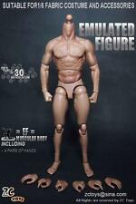 ZC Toys 1/6 Scale Muscle Muscular Nude Action Figure Body fit Wolverine Head hot