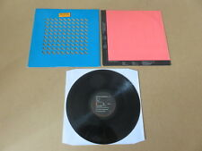 OMD Orchestral Manoeuvres In The Dark UK Blue & Pink diecut sleeve vinyl LP DID2