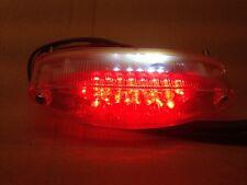 12 volt Universal LED Rear brake Light stop tail Safety Light Race Bike Trackday